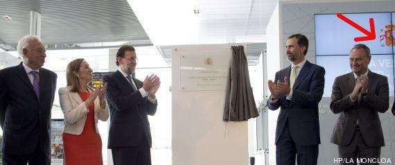 Moncloa recorta las fotos de Rajoy en Alicante para que no salga Sonia Castedo, la alcaldesa