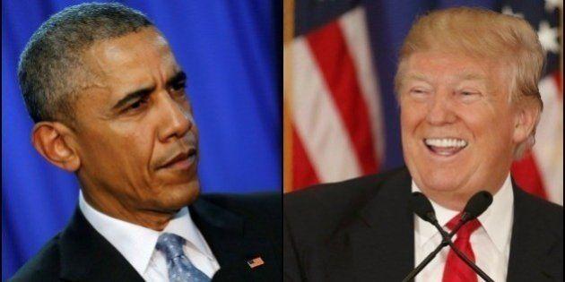 La diferencia entre Obama y Trump en sólo dos