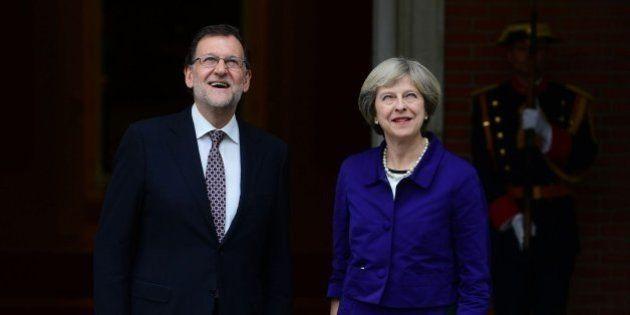 Londres, tras la reunión de Rajoy y May: el Brexit no afectará a