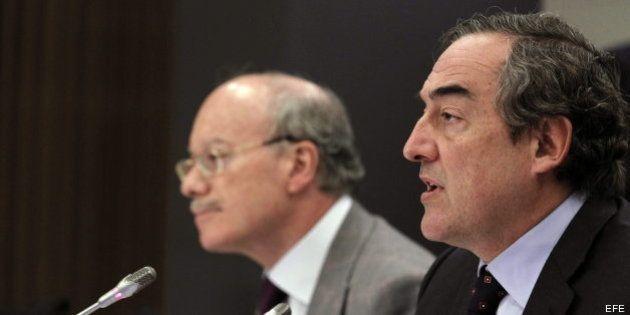 El presidente de la CEOE, Juan Rosell, rechaza modificar los permisos de
