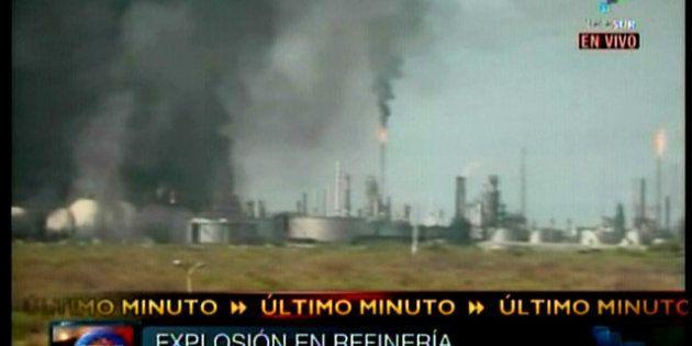 Al menos 39 muertos en la explosión de una refinería en