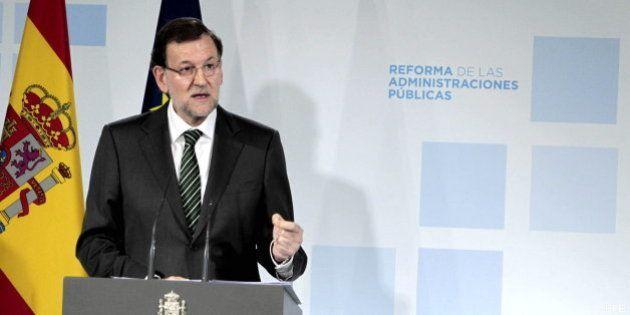 Rajoy defiende la reforma de las Administraciones para eliminar duplicidades con