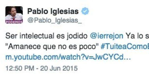 Pablo Iglesias apoya a Íñigo Errejón en su polémica en