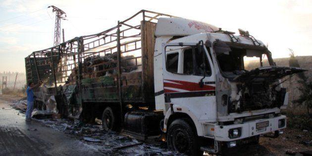 La ONU suspende la ayuda a Siria tras el ataque al convoy