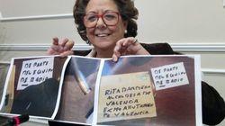 Rita Barberá denuncia haber recibido un sobre con una