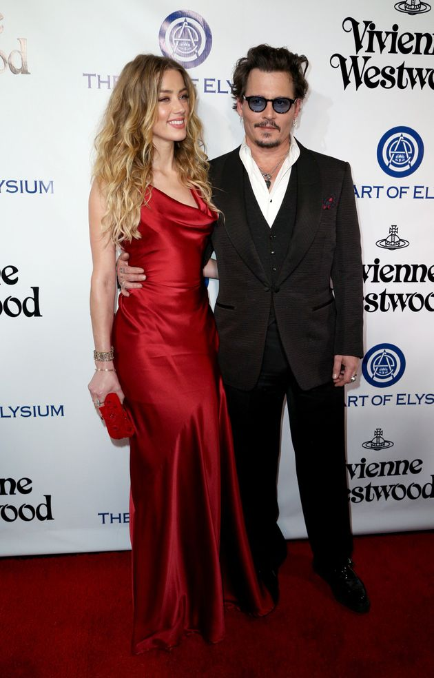 Johnny Depp y Amber Heard se
