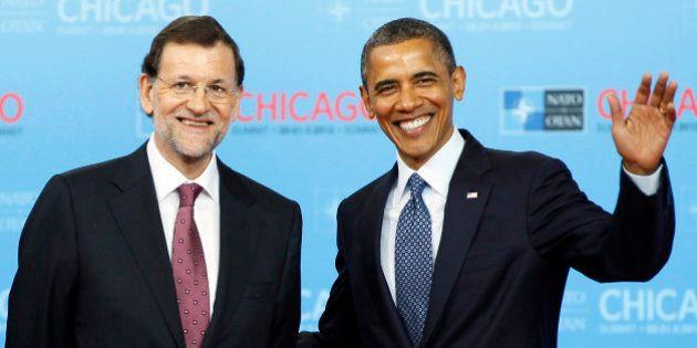 Rajoy logra tras dos años de mandato reunirse con Obama en la Casa
