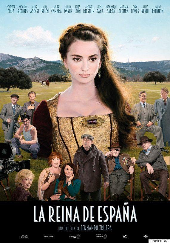 El cartel de 'La reina de España' no es un póster cualquiera: el óleo de Joaquín