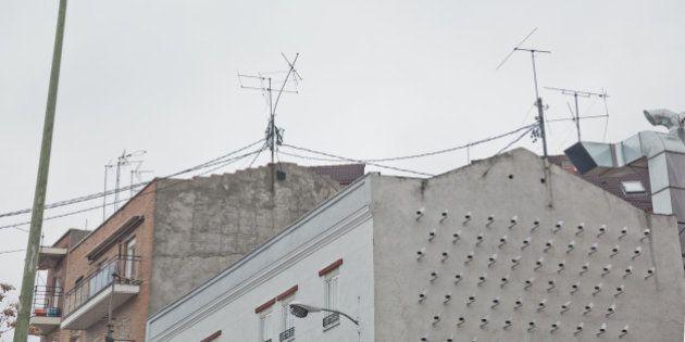 150 cámaras de seguridad en una casa de Madrid: la instalación reivindicativa de SpY