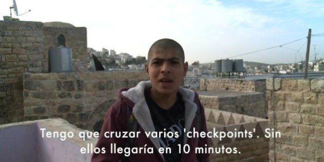 UNRWA explica en un vídeo el drama de los niños palestinos para ir a clase por la