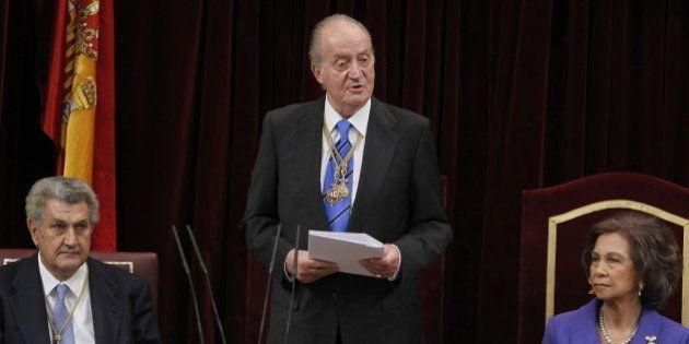 Posada dice que el aforamiento del rey Juan Carlos fue