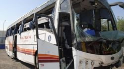 53 heridos tras volcar un autobús en Ciudad