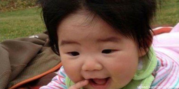 Bebés con 'pelazo': peinados divertidos