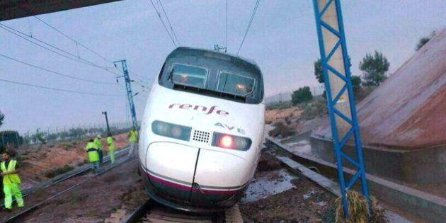 Incidente en el AVE Madrid-Alicante por las malas condiciones