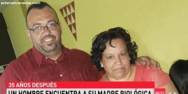 Un niño robado y su madre se reencuentran en Canarias 35 años después gracias a