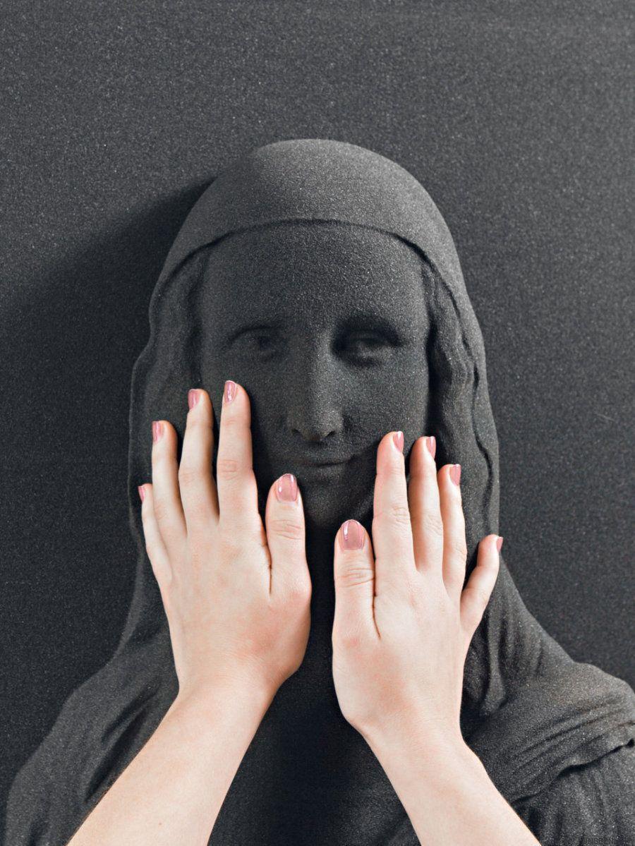 Arte para tocarlo: obras en 3D para personas que no pueden ver