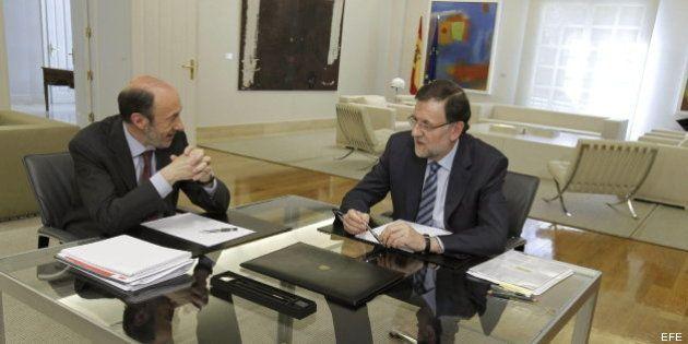 Rajoy y Rubalcaba defienden su pacto sobre la UE para que