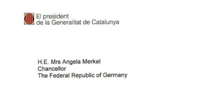La carta de Artur Mas a Angela Merkel sobre la consulta