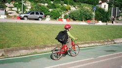 Casco obligatorio solo para los ciclistas menores en