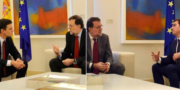 Rajoy vuelve a pedir a PSOE y Ciudadanos que apoyen su