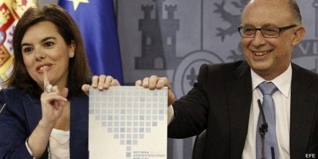 La reforma de la administración ahorrará 37.700 millones de euros en tres