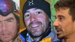 Dan por fallecidos a los tres alpinistas