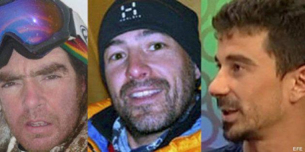 Dan por fallecidos a los tres alpinistas españoles perdidos en el