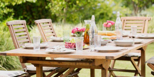 14 razones por las que las mejores fiestas son en el jardín