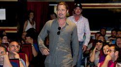 SORPRESÓN de Brad Pitt en Madrid