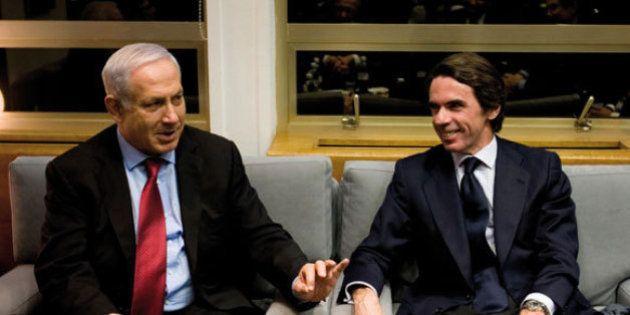 Aznar defiende las fábricas israelíes en suelo ocupado