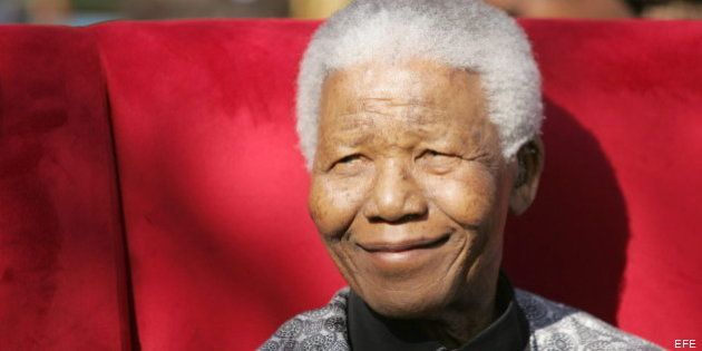 Nelson Mandela, en estado