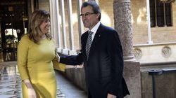 Susana Díaz insta a Artur Mas a abandonar el