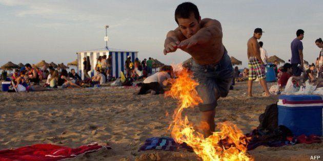 Noche de San Juan 2013: Las hogueras, en