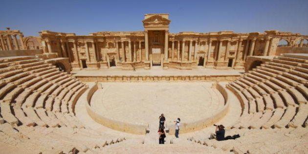 El Estado Islámico siembra de explosivos la ciudad monumental de Palmira, en