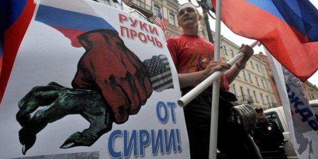 Siria dice que Rusia tiene pruebas del uso de armas químicas por la