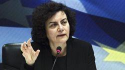 Dimite la viceministra de Finanzas griega en desacuerdo con el tercer