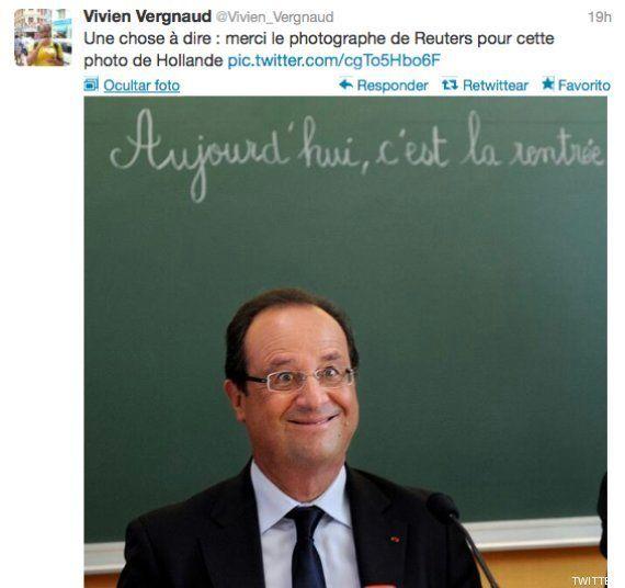 AFP y Reuters eliminan una foto de Hollande por salir con esta