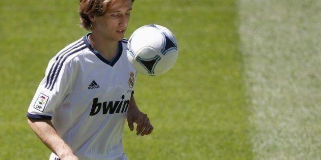 Luka Modric ficha por el Real Madrid, el club