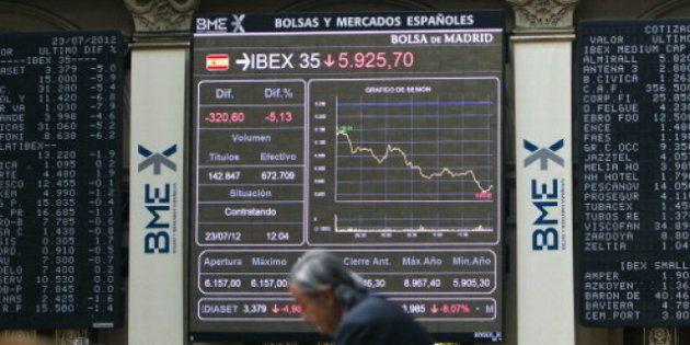 La economía española creció un 0,4% en 2011, tres décimas menos de lo estimado por el