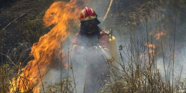 Un incendio sin control en Mallorca obliga a desalojar la localidad de