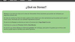 Diseña una página web para intercambiar libros de texto