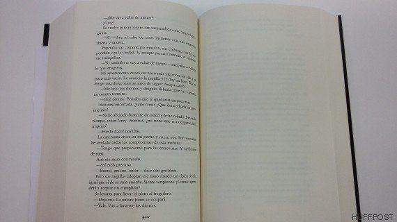 ¡Ups! El libro de 'Grey' sale a la venta sin la página 421: dónde y cómo