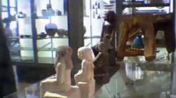 El misterio de la estatua egipcia que se mueve sola