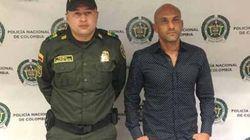 Detienen al exfutbolista colombiano Osorio con cocaína y rumbo a