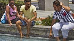 Españoles, la ola de calor ha