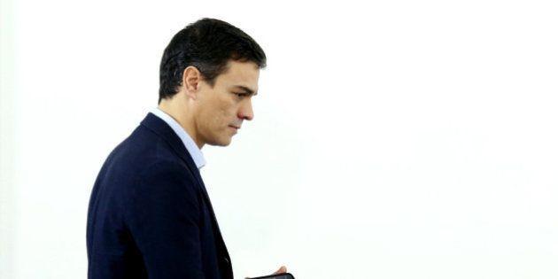 Las voces que acompañan a Pedro Sánchez a su reunión con Rajoy post