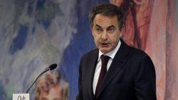 Zapatero defiende al rey y desea suerte a Rajoy con el