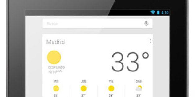 Tableta de Google ya la venta en España: Nexus 7 cuesta 199