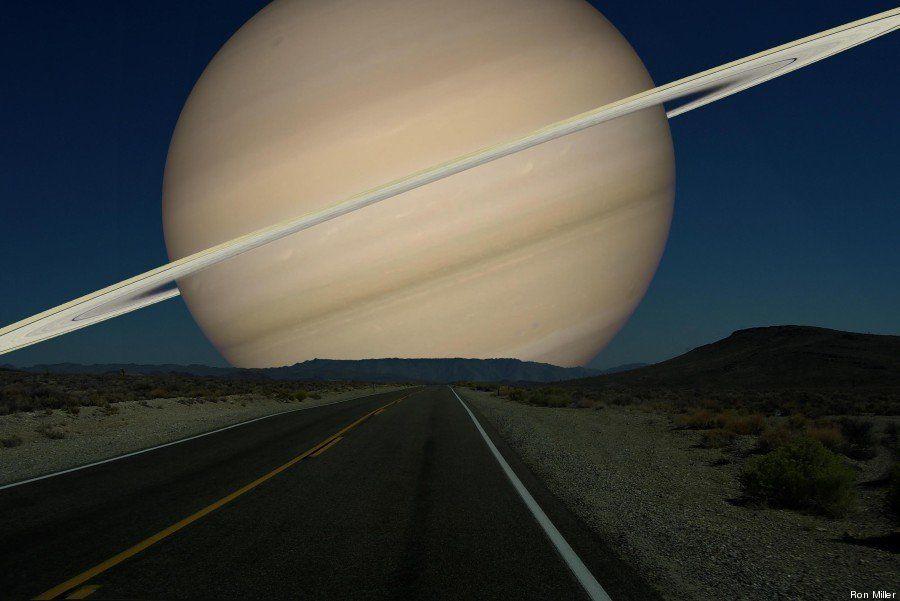Así veríamos los planetas si estuvieran tan cerca como la Luna