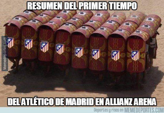 Los 'memes' del Bayern-Atlético que recibirás por